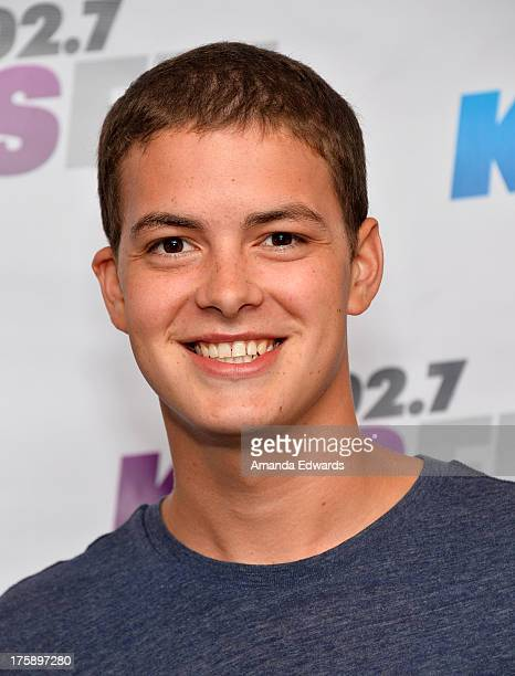 Actor Israel Broussard arrives at the 102.7 KIIS FM Teen Choice Awards Pre-Party at W Los Angeles - Westwood on August 9, 2013 in Los Angeles,...