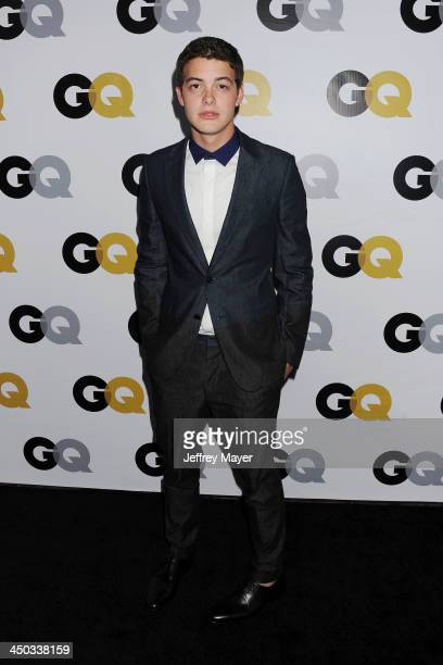 Actor Israel Broussard arrives at the 2013 GQ Men Of The Year Party at The Ebell of Los Angeles on November 12 2013 in Los Angeles California