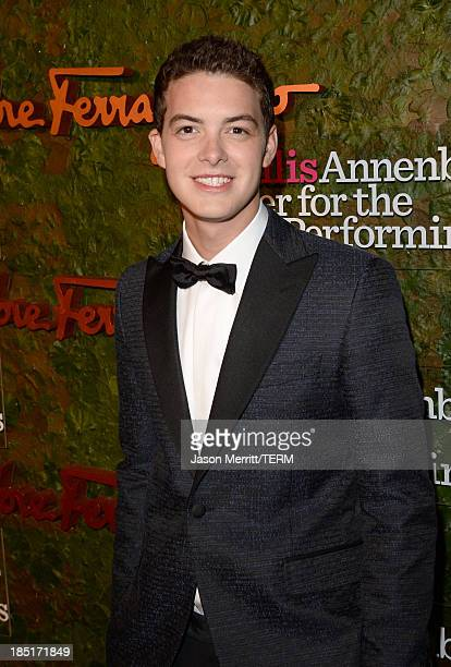 Actor Israel Broussard arrives at the Wallis Annenberg Center for the Performing Arts Inaugural Gala presented by Salvatore Ferragamo at the Wallis...