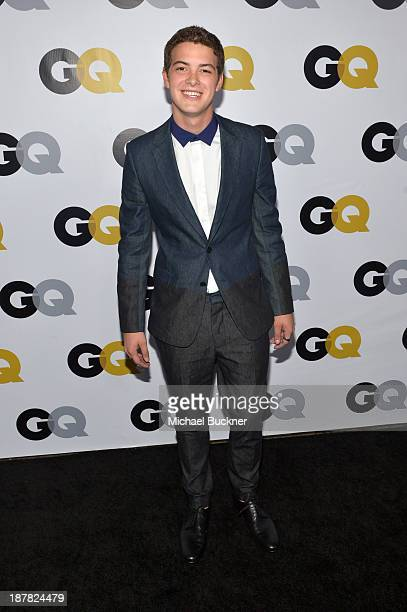 Actor Israel Broussard attends the GQ Men Of The Year Party at The Ebell Club of Los Angeles on November 12, 2013 in Los Angeles, California.