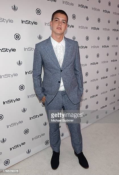 Actor Israel Broussard attends the InStyle Summer Soiree held Poolside at the Mondrian hotel on August 14, 2013 in West Hollywood, California.