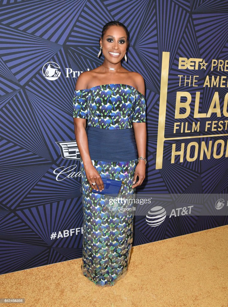 Actor Issa Rae attends BET Presents the American Black Film Festival Honors on February 17, 2017 in Beverly Hills, California.