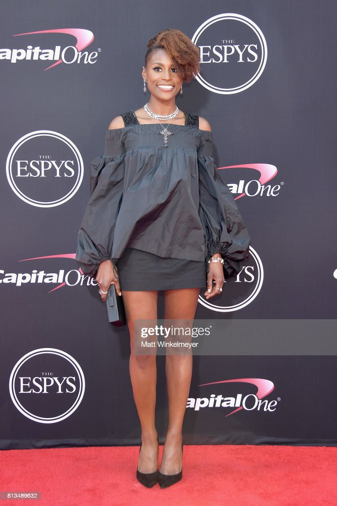 Actor Issa Rae attends The 2017 ESPYS at Microsoft Theater on July 12, 2017 in Los Angeles, California.