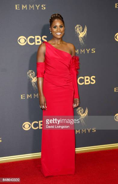 Actor Issa Rae attends the 69th Annual Primetime Emmy Awards at Microsoft Theater on September 17 2017 in Los Angeles California