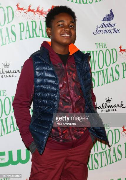 Actor Issac Ryan Brown attends the 87th Annual Hollywood Christmas Parade on November 25 2018 in Hollywood California