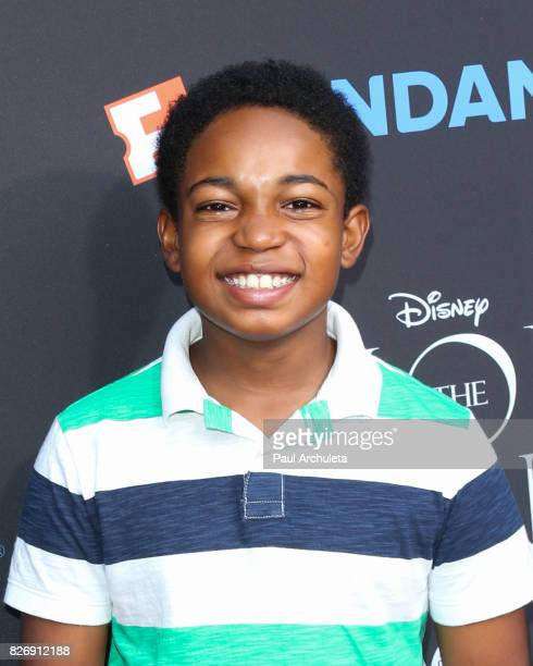 Actor Issac Ryan Brown attends the The Lion King singalong and screening at The Greek Theatre on August 5 2017 in Los Angeles California
