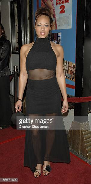 Actor Iva La'shawn attends the 20th Century Fox Premiere of Big Momma's House 2 at Mann's Grauman Chinese Theater on January 25 2006 in Hollywood...
