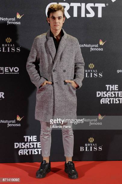 Actor Ivan Montes attends the 'The disaster artist' premiere at Callao cinema on November 7 2017 in Madrid Spain