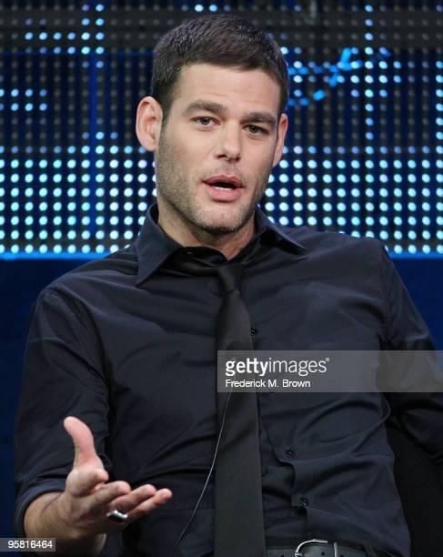 """Actor Ivan Sergei of the television show """"Gravity"""" speak during the Starz Network portion of The 2010 Winter TCA Press Tour at the Langham Hotel on..."""