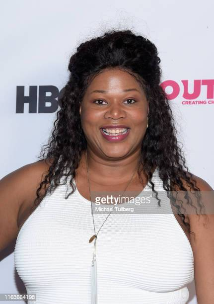 Actor Ivana Black attends a screening of The Garden Left Behind at the 2019 Outfest Los Angeles LGBTQ Film Festival at Margo Albert Theatre on July...