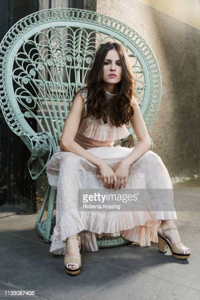 Actor Ivana Lotito is photographed on June 13 2017 in Rome Italy