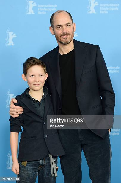 Actor Ivo Pietzcker and director Edward Berger attend the 'Jack' photocall during 64th Berlinale International Film Festival at Grand Hyatt Hotel on...
