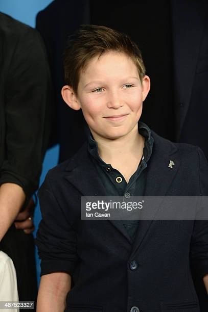 Actor Ivo Pietzcker attends the 'Jack' photocall during 64th Berlinale International Film Festival at Grand Hyatt Hotel on February 7 2014 in Berlin...