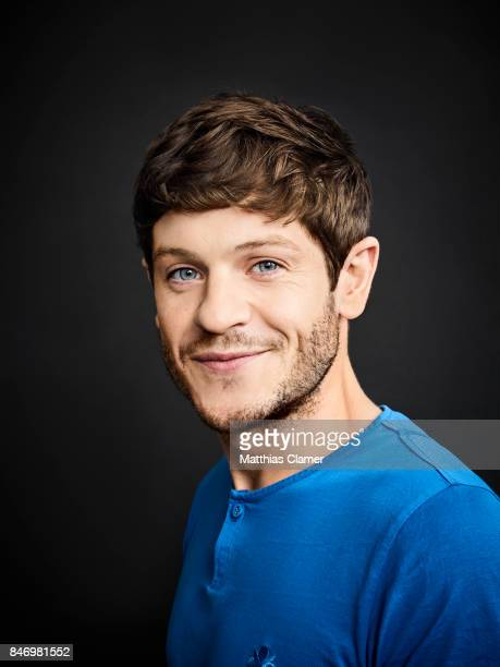 Actor Iwan Rheon from 'Game of Thrones' is photographed for Entertainment Weekly Magazine on July 22 2016 at Comic Con in the Hard Rock Hotel in San...