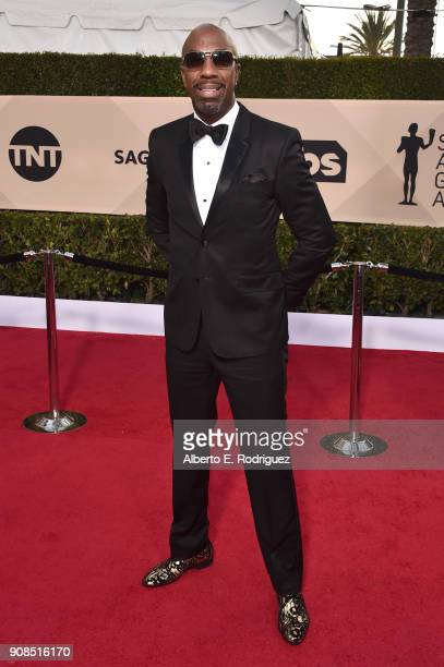 Actor J B Smoove attends the 24th Annual Screen Actors Guild Awards at The Shrine Auditorium on January 21 2018 in Los Angeles California 27522_006