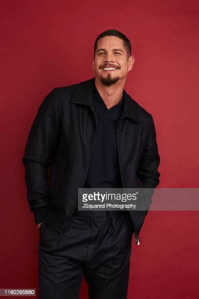 Actor J D Pardo of FX's 'Mayans MC' poses for a portrait during the 2019 Summer TCA Portrait Studio at The Beverly Hilton Hotel on August 06 2019 in...