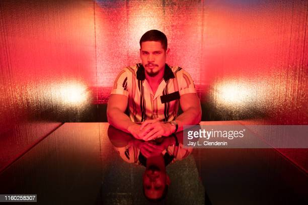 Actor J D Pardo of 'Mayans MC' is photographed for Los Angeles Times at ComicCon International on July 20 2019 in San Diego California PUBLISHED...