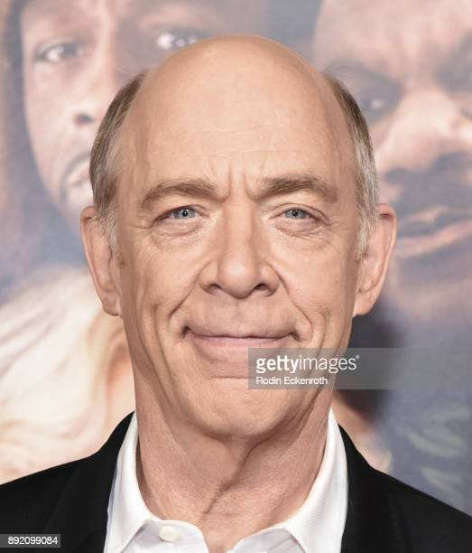 Actor J K Simmons arrives at the premiere of Warner Bros Pictures' 'Father Figures' at TCL Chinese Theatre on December 13 2017 in Hollywood California