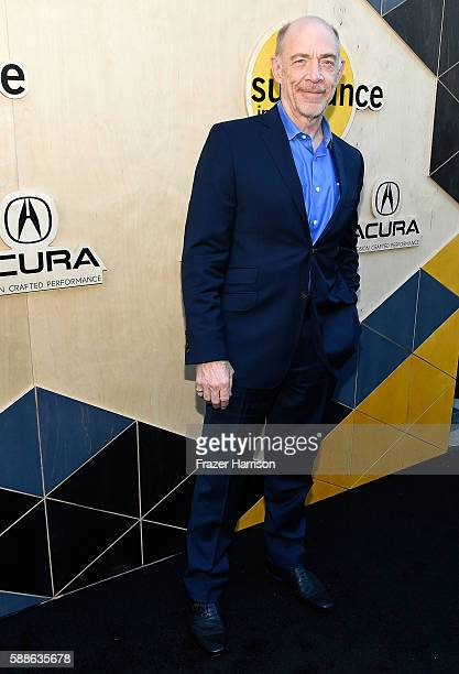 Actor J K Simmons attends the Sundance Institute NIGHT BEFORE NEXT Benefit at The Theatre at The Ace Hotel on August 11 2016 in Los Angeles California