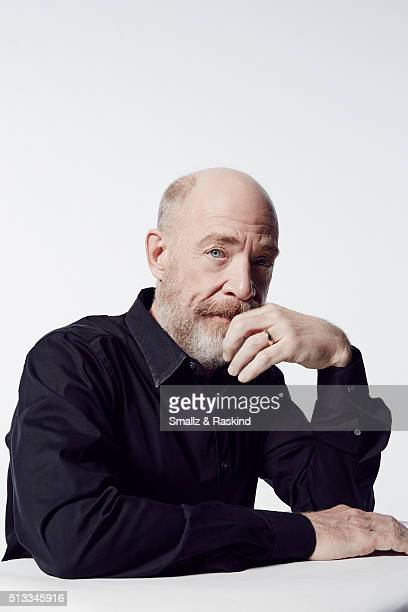 Actor J K Simmons poses for a portrait at the 2016 Film Independent Spirit Awards on February 27 2016 in Santa Monica California