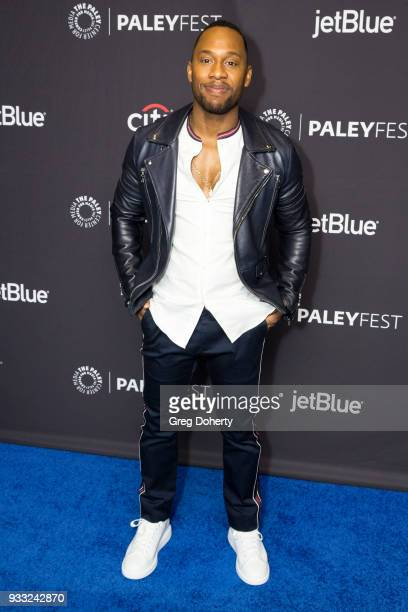 """Actor J. Lee attends the 2018 PaleyFest Los Angeles for Fox's """"The Orville"""" at Dolby Theatre on March 17, 2018 in Hollywood, California."""