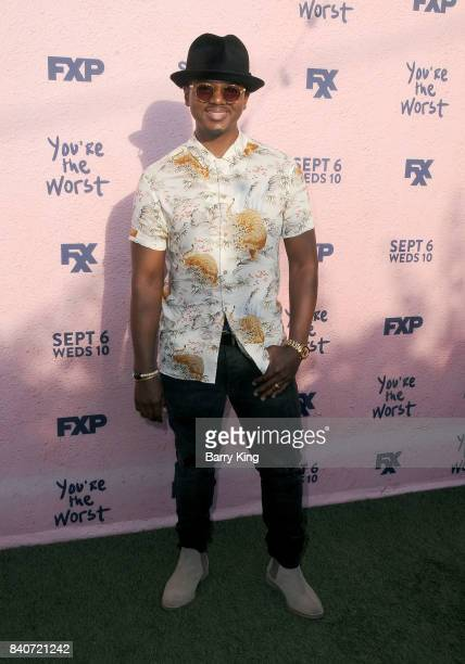 Actor J Mallory McCree attends the premiere of FXX's 'You're The Worst' Season 4 at Museum of Ice Cream LA on August 29 2017 in Los Angeles California