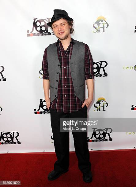Actor J Michael Trautman arrives for the Premiere Of JR Productions' Halloweed held at TCL Chinese 6 Theatres on March 15 2016 in Hollywood California