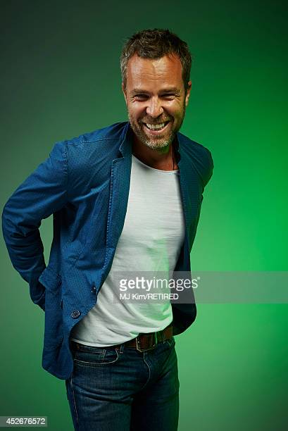 Actor J. R. Bourne poses for a portrait at the Getty Images Portrait Studio powered by Samsung Galaxy at Comic-Con International 2014 at Hard Rock...