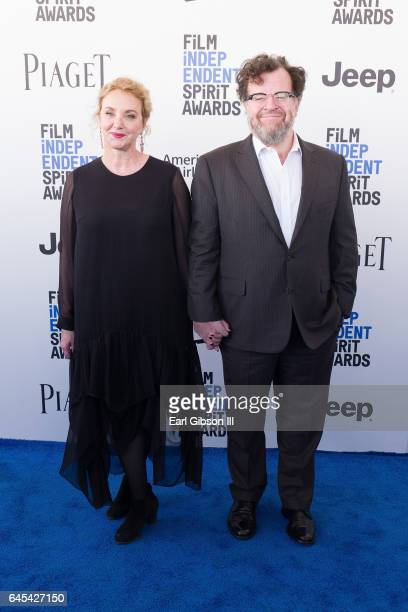 Actor J SmithCameron and director Kenneth Lonergan attends the 2017 Film Independent Spirit Awards on February 25 2017 in Santa Monica California