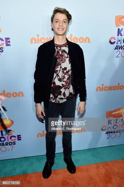 Actor Jace Norman at Nickelodeon's 2017 Kids' Choice Awards at USC Galen Center on March 11 2017 in Los Angeles California