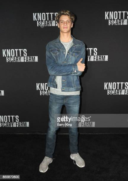 Actor Jace Norman attends Knott's Scary Farm and Instagram Celebrity Night at Knott's Berry Farm on September 29 2017 in Buena Park California