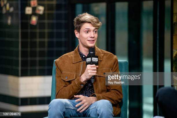 Actor Jace Norman discusses the Nickelodeon TV series Henry Danger with the Build Series at Build Studio on January 07 2019 in New York City