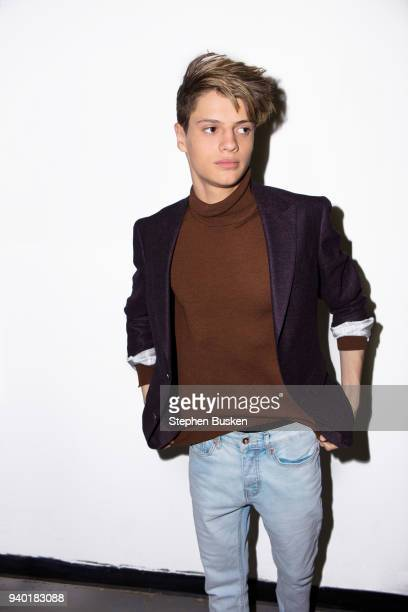 Actor Jace Norman is photographed for Self Assignment on December 9 2017 in Los Angeles California
