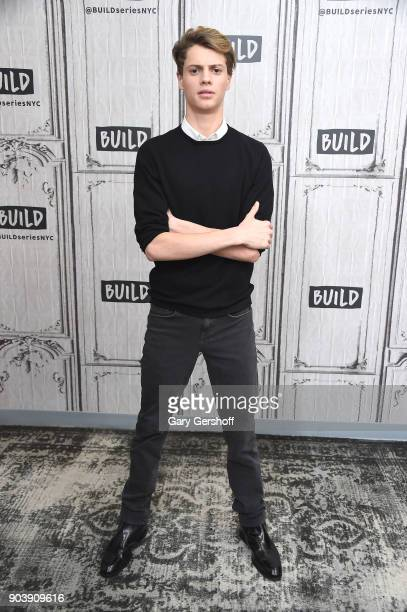 Actor Jace Norman visits Build Series to discuss his marketing agency Creator Edge Media at Build Studio on January 11 2018 in New York City