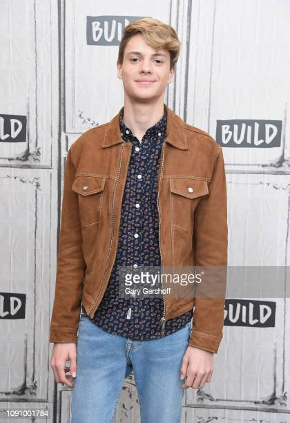 Actor Jace Norman visits Build Series to discuss the Nickelodeon TV series 'Henry Danger' and the film 'Bixler High Private Eye' at Build Studio on...