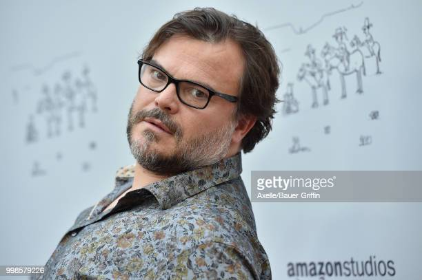 Actor Jack Black arrives at Amazon Studios premiere of 'Don't Worry He Won't Get Far on Foot' at ArcLight Hollywood on July 11 2018 in Hollywood...