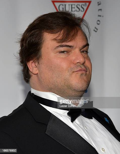 Actor Jack Black arrives at Light Up The Blues Concert An Evening of Music To Benefit Autism Speaks at Club Nokia on April 13 2013 in Los Angeles...