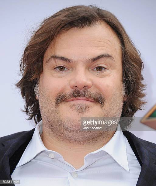 Actor Jack Black arrives at the Los Angeles Premiere 'Kung Fu Panda 3' at TCL Chinese Theatre on January 16 2016 in Hollywood California
