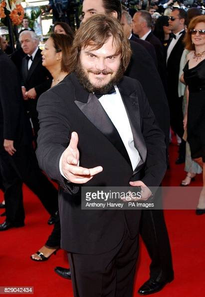 Actor Jack Black Arrives For The Premiere Of Shrek 2 At The Palais News Photo Getty Images