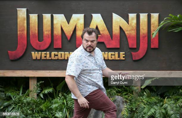 Actor Jack Black attends a photocall for Columbia Pictures' 'Jumanji Welcome To The Jungle' at the Four Seasons Resort Oahu at Ko Olina on November...