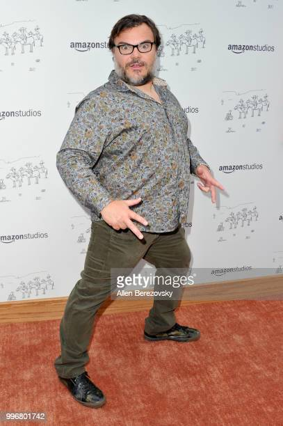 Actor Jack Black attends Amazon Studios Premiere of Don't Worry He Wont Get Far On Foot at ArcLight Hollywood on July 11 2018 in Hollywood California