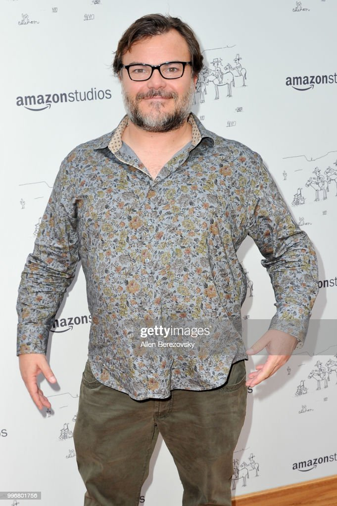 Actor Jack Black attends Amazon Studios Premiere of 'Don't Worry, He Wont Get Far On Foot' at ArcLight Hollywood on July 11, 2018 in Hollywood, California.