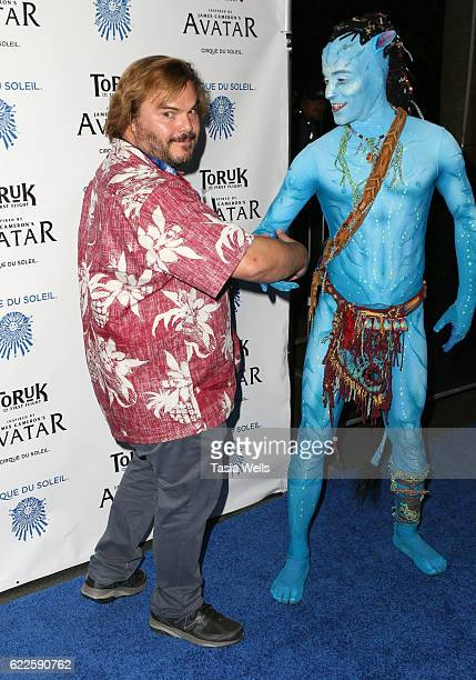 Actor Jack Black attends Opening Night Of Cirque du Soleil's 'Toruk The First Flight' at Staples Center on November 11 2016 in Los Angeles California