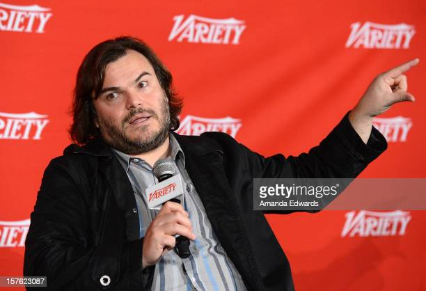 Actor Jack Black attends the 2012 Variety Screening Series of Bernie at Mann Chinese 6 on December 4 2012 in Hollywood California