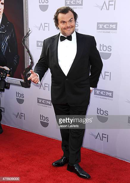 Actor Jack Black attends the 43rd AFI Life Achievement Award gala at Dolby Theatre on June 4, 2015 in Hollywood, California.