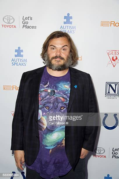 Actor Jack Black attends the 4th Annual Light Up The Blues at the Pantages Theatre on May 21 2016 in Hollywood California