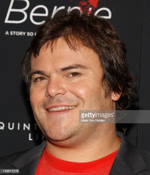 Actor Jack Black attends the Bernie premiere at the AMC Loews 19th Street Theater on April 23 2012 in New York City