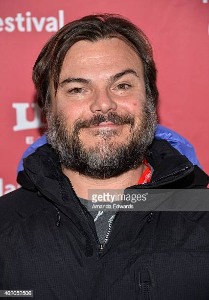 Actor Jack Black attends The D Train premiere during the 2015 Sundance Film Festival on January 23 2015 in Park City Utah