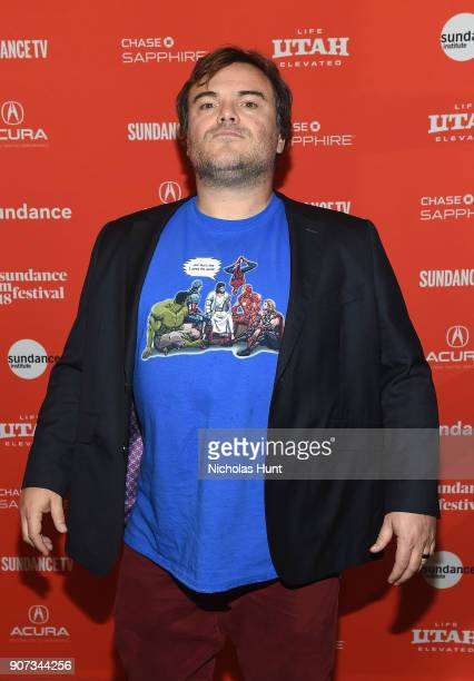 Actor Jack Black attends the Don't Worry He Won't Get Far On Foot Premiere during the 2018 Sundance Film Festival at Eccles Center Theatre on January...