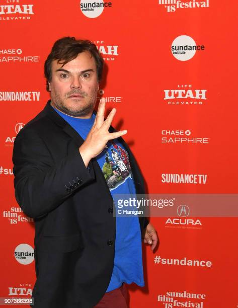 Actor Jack Black attends the 'Don't Worry He Won't Get Far On Foot' Premiere during the 2018 Sundance Film Festival at Eccles Center Theatre on...
